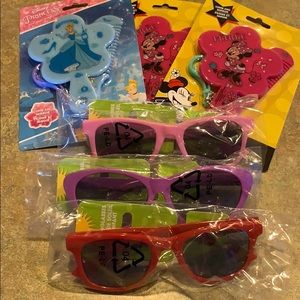 NWOT, kids 3 pack sunglasses and mirror sets